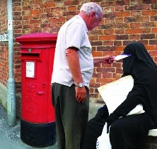 burqa post office boxes