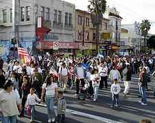 Immigrants' Rights March