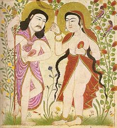 Mongol Iran Adam & Eve