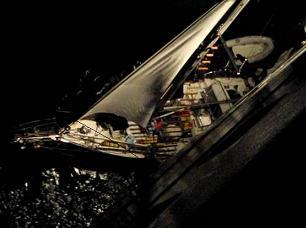 sailboat rescue by norwegian dawn