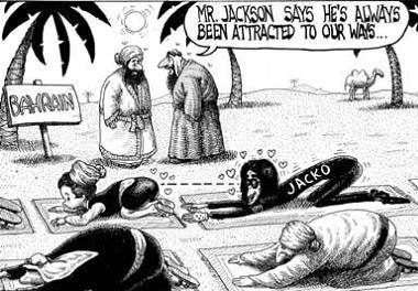 Michael Jackson turns Muslim