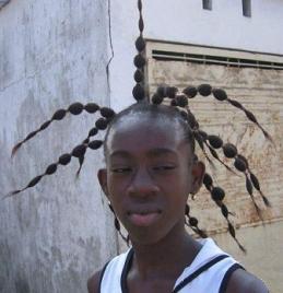 Stupid Black Hairstyle