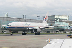 missing international passenger flight operated by a Boeing 777-200ER aircraft with 227 passengers and 12 crew members on board