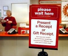 customer service counter target