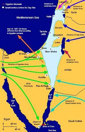 6 day war Israel 1967
