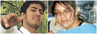 parents of bomb baby Abdula Ahmed Ali and Cossor Ali