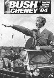 Bush nazi hitler