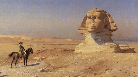 Bonaparte Before the Sphinx, (ca. 1868) by Jean-Léon Gérôme, Hearst Castle