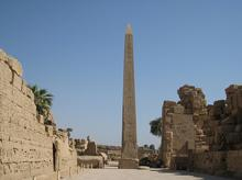 Obelisk of Queen Hapshetsut, Karnak, Egypt