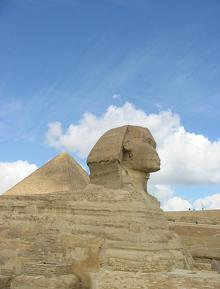 Cairo, 2005 The Sphinx.