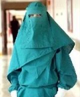 muslim hospital gown