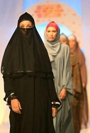 burqas in fashion iran