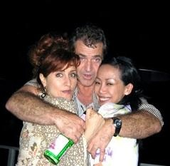 Mel Gibson night drinking party