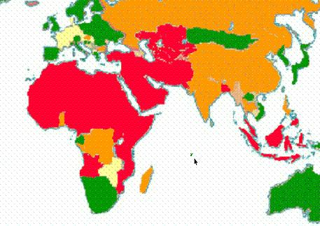 map of muslim population