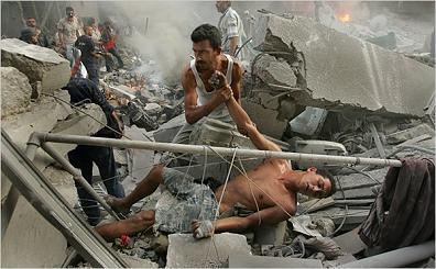 reutered fake photo of lebanese death