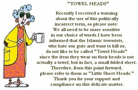 towel heads - sheet heads