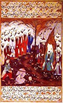Mohammed beheading siyer i nebi