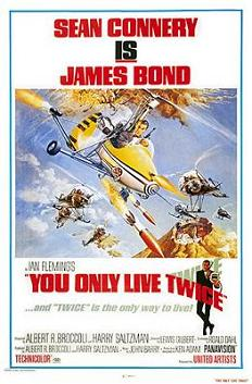 you only live twice poster james bond