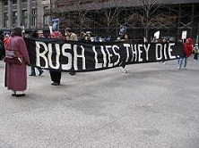 bush lies