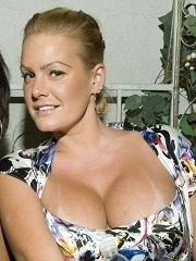 Christine Prody big breasted girlfriend of murderer OJ Simpson
