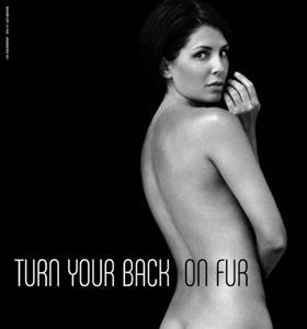 naked for PETA sadie frost