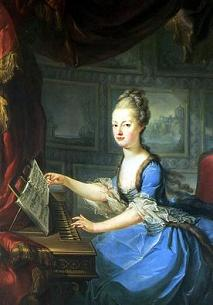 Marie Antoinette, painted by Franz Xaver Wagenschön, shortly after her marriage in 1770
