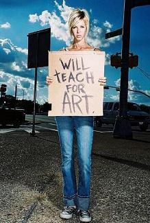 Austin High art teacher Tamara Hoover, as photographed by Celesta Danger. Nude photos of Hoover taken by Danger may cost Hoover her job.