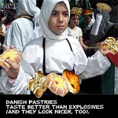 danish pastries better than islamic bombs