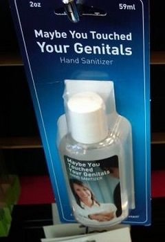 Hand Sanitizer On Penis 20