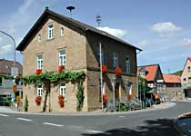 Das Rathous - the town hall - weinsheim Germany