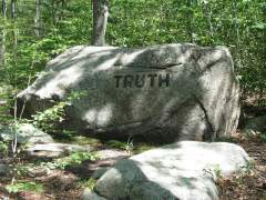 truth is a rock