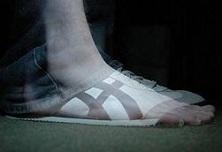 sneaker foot xray