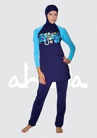 Muslim bikini Ahiida Burqini Slim-Fit Swimwear
