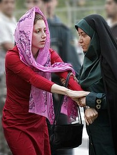 arrested for violating Iranian Dress code