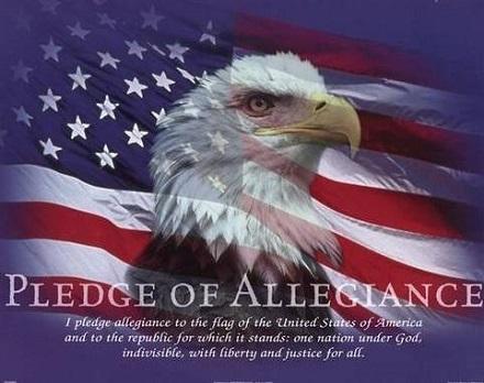 Pledge of Allegiance Eagle