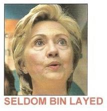 seldom bin layed