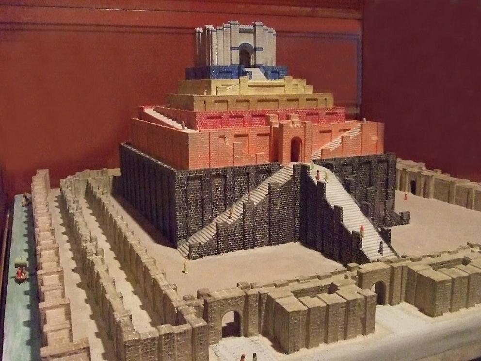 Model Of The Tower Babel At Rosicrucian Egyptian Museum Flickr User Mharrsch