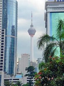 The Kuala Lumpur Tower (officially known as Menara Kuala Lumpur; referred later as KL Tower)