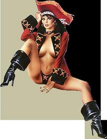 sexy female pirate