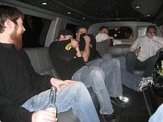 farting in the limo