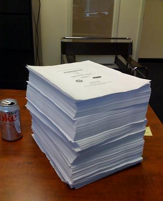 Ford's 22 Pound, 2,215 page, 2007 Contract with the UAW