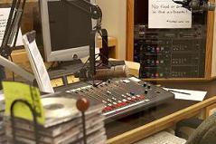 The radio station at Wright State University, Dayton, Ohio, USA