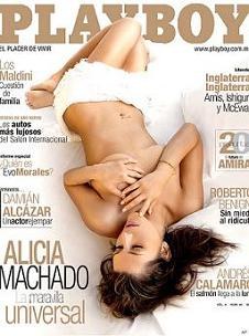 alicia machado playboy mexico venezuela model