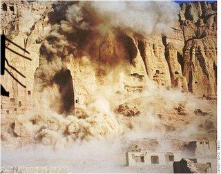 Bamiyan Buddhas before taliban explosives