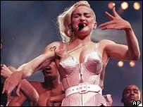 madonna pointy bra blond ambition