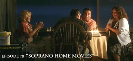 sopranos episode 78 Home Movies