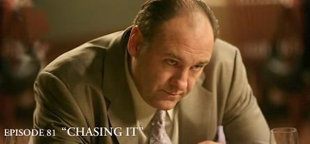 sopranos episode 81 chasing it
