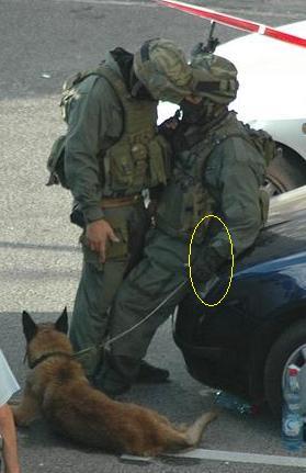 israel military k9