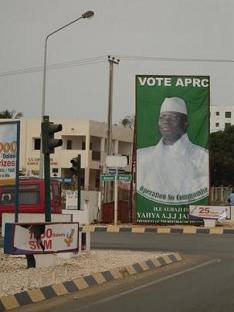 Valgplakat for APRC