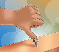 How to Unscrew a Screw Without a Screwdriver